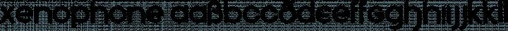 Xenophone Regular free font