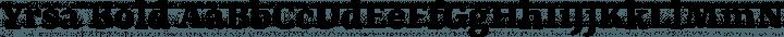 Yrsa Bold free font