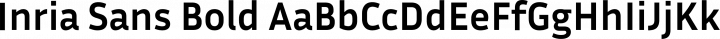 Inria Sans Bold free font