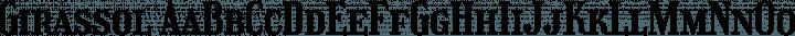 Girassol Regular free font