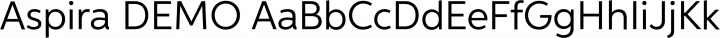 Aspira DEMO free font