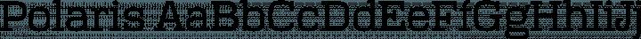 Polaris font family by Floodfonts