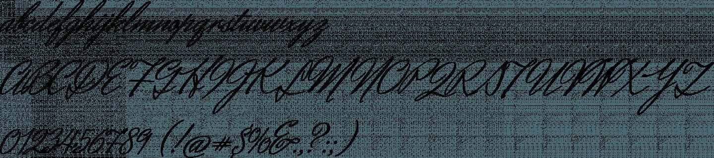 Herr Von Muellerhoff Font Specimen